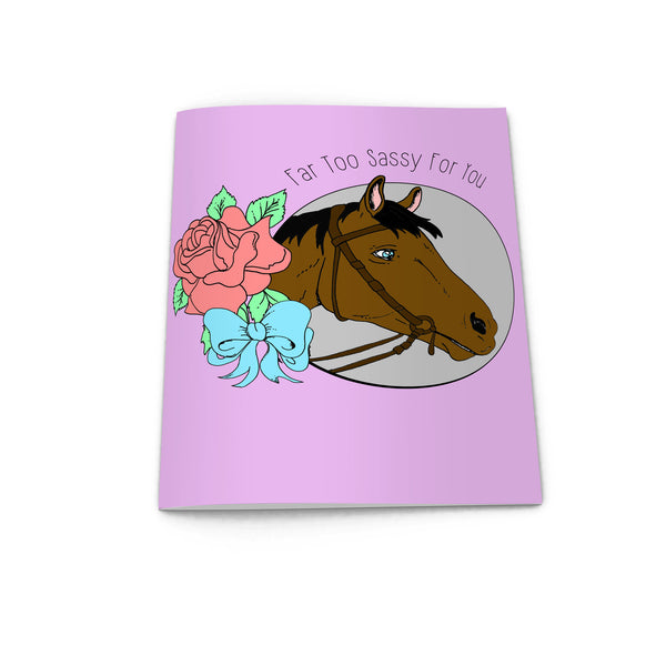 Sassy Horse Notebook from LA LA LAND