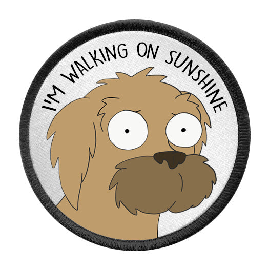 I'M WALKING ON SUNSHINE Patch