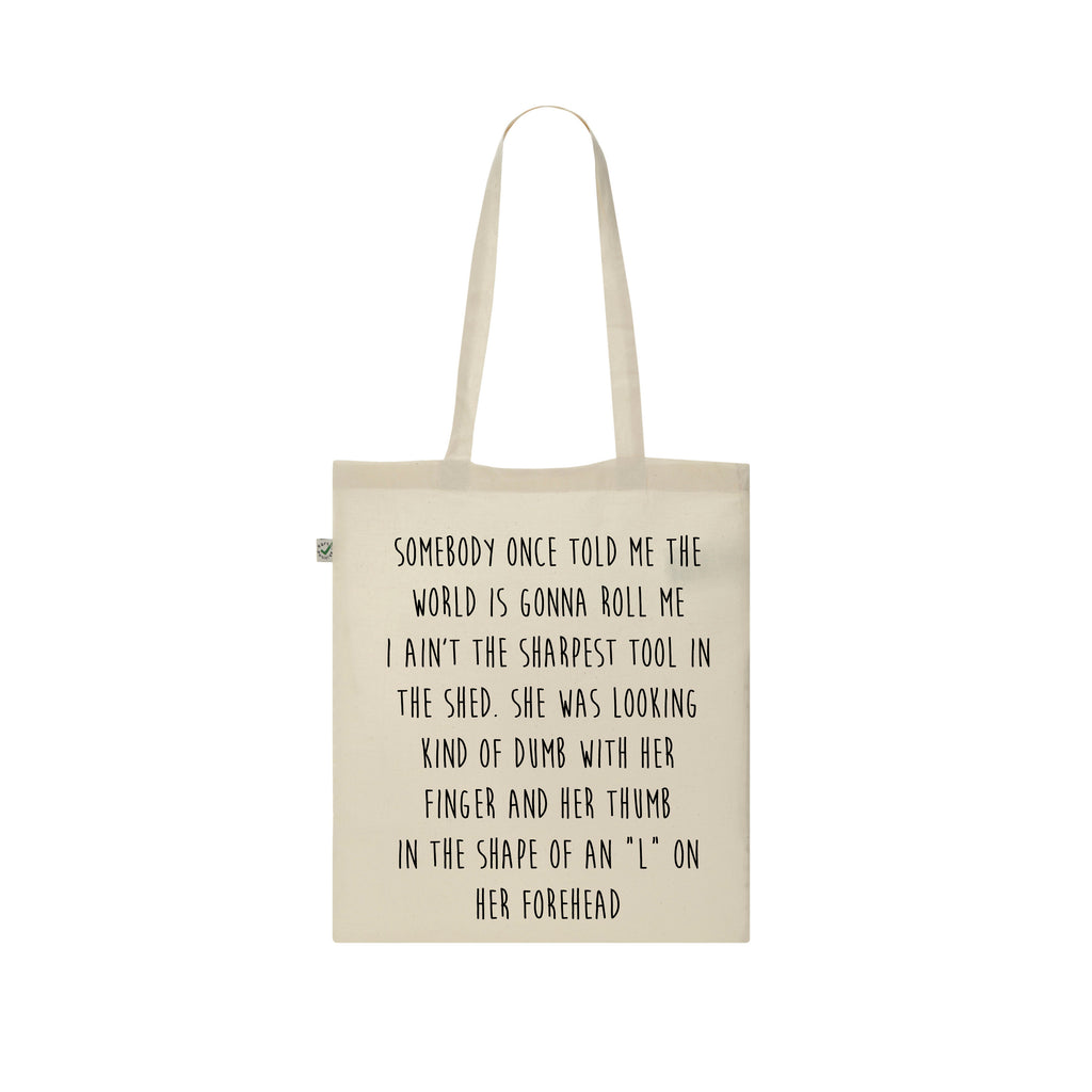 CUSTOM SLOGAN Tote Bag