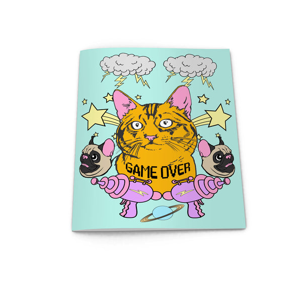 SPACE KITTY notebook from LA LA LAND