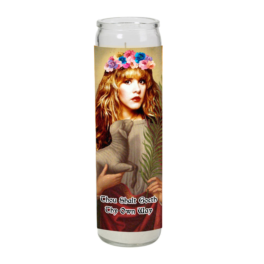 SAINT STEVIE NICKS Prayer Candle