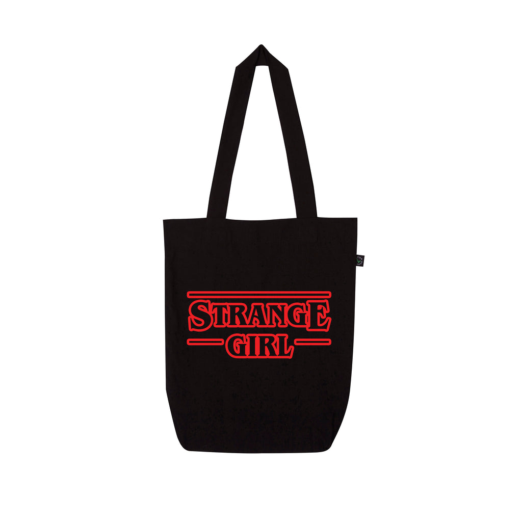 STRANGER THINGS strange girl Tote Bag from LA LA LAND