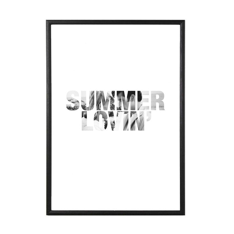 Summer Lovin Grease quote art print from LA LA LAND
