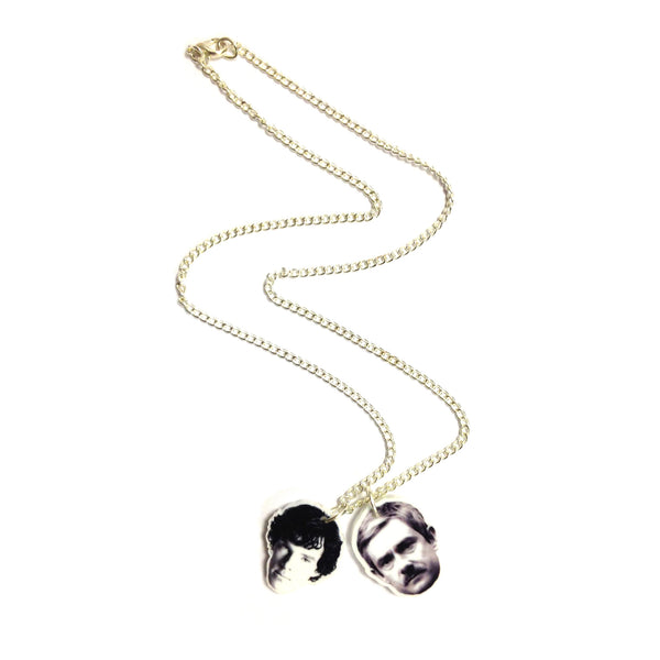 Benedict Cumberbatch Sherlock Dr Watson Martin Freeman Necklace by LA LA LAND