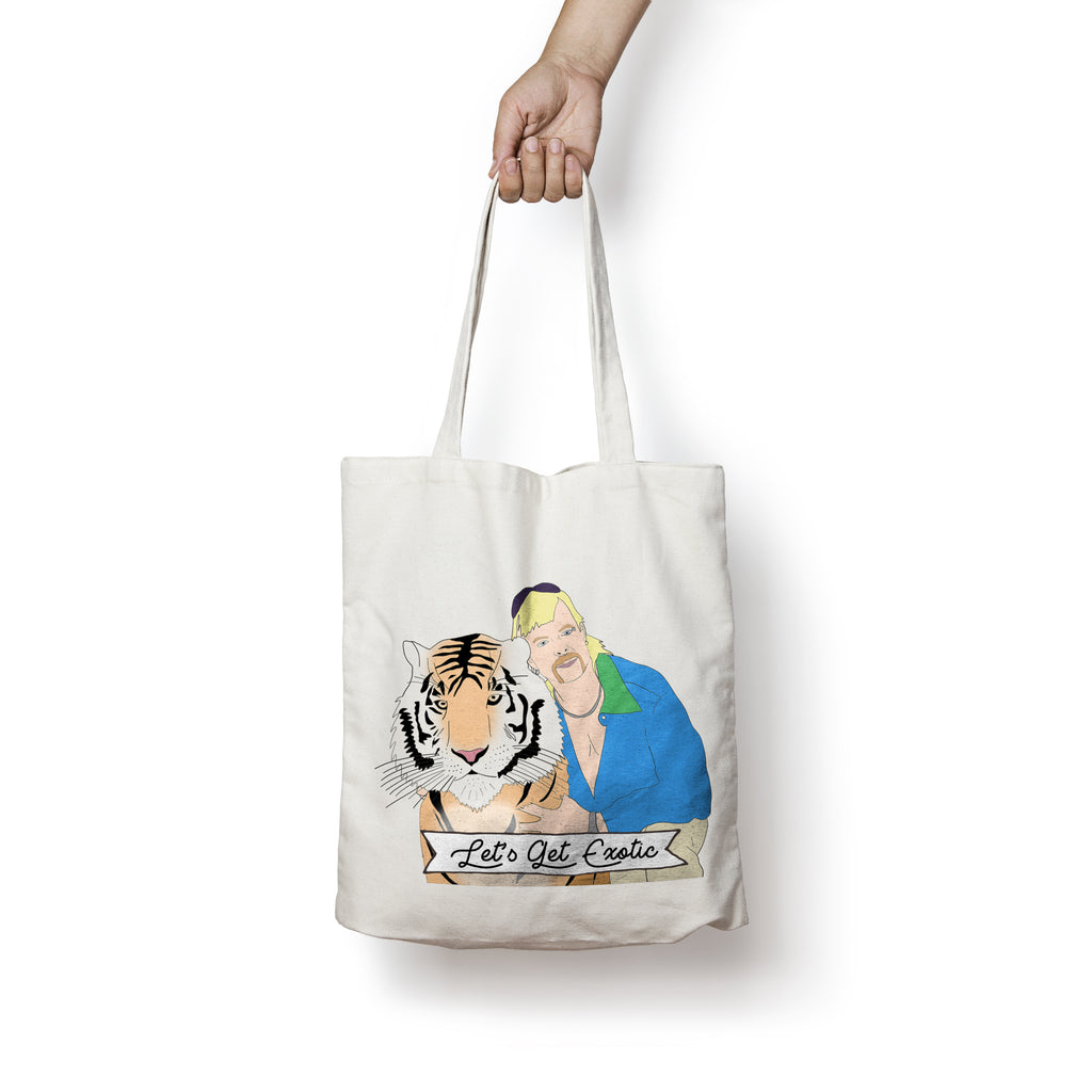 LET'S GET EXOTIC Tote Bag