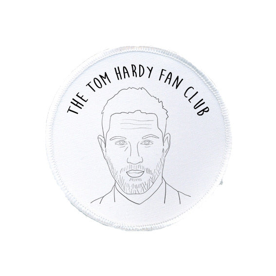 Tom Hardy Fan Club sew on patch from LA LA LAND