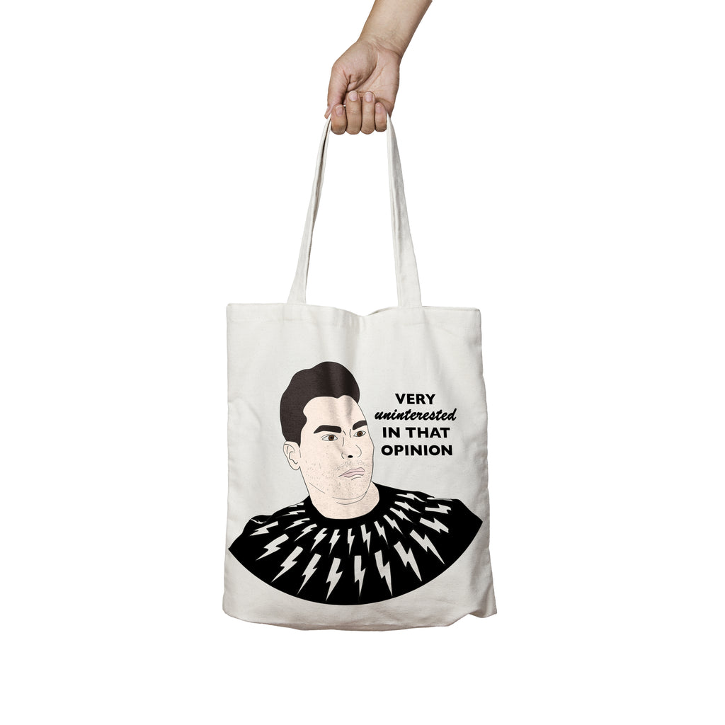 VERY UNINTERESTED IN THAT OPINION Tote Bag
