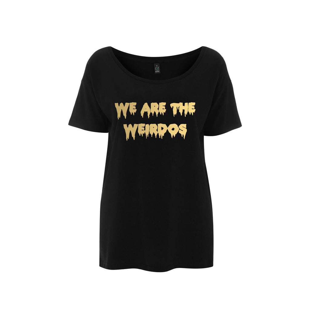 WE ARE THE WEIRDOS Slouchy Tee