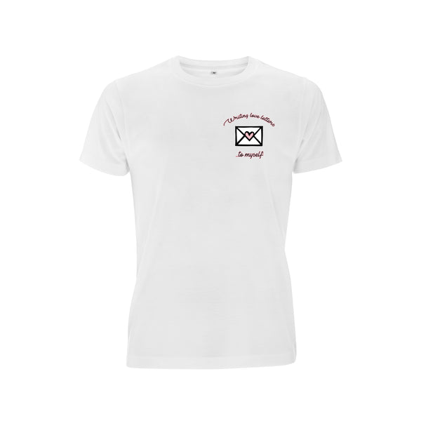WRITING LOVE LETTERS TO MYSELF tee from LA LA LAND