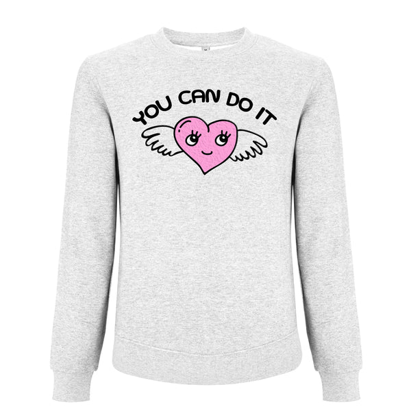 YOU CAN DO IT winged heart sweater from LA LA LAND