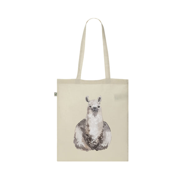 alpaca tote bag from la la land