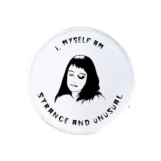 beetlejuice LYDIA DEETZ strange and unusual patch from LA LA LAND.jpg