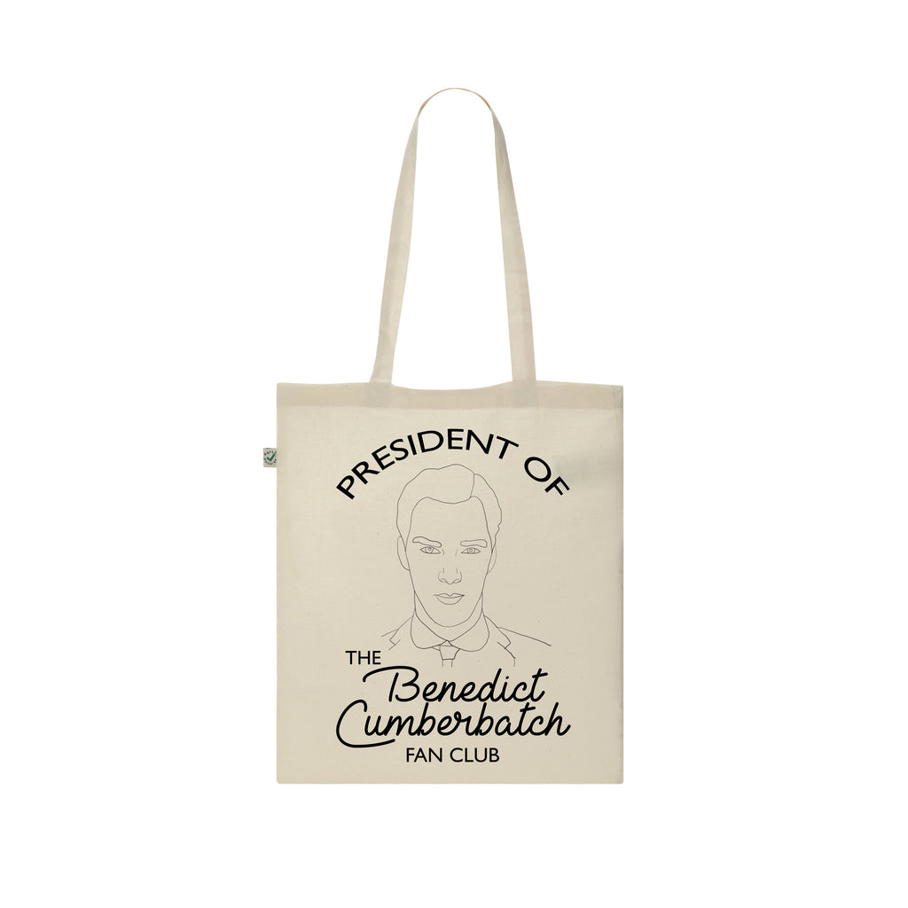 CUSTOM FAN CLUB PRESIDENT Tote Bag