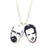 Breaking Bad Jesse Pinkman Walter White Necklace