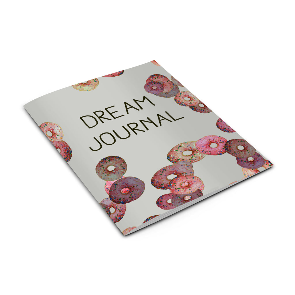 doughnut notebook dream journal from LA LA LAND