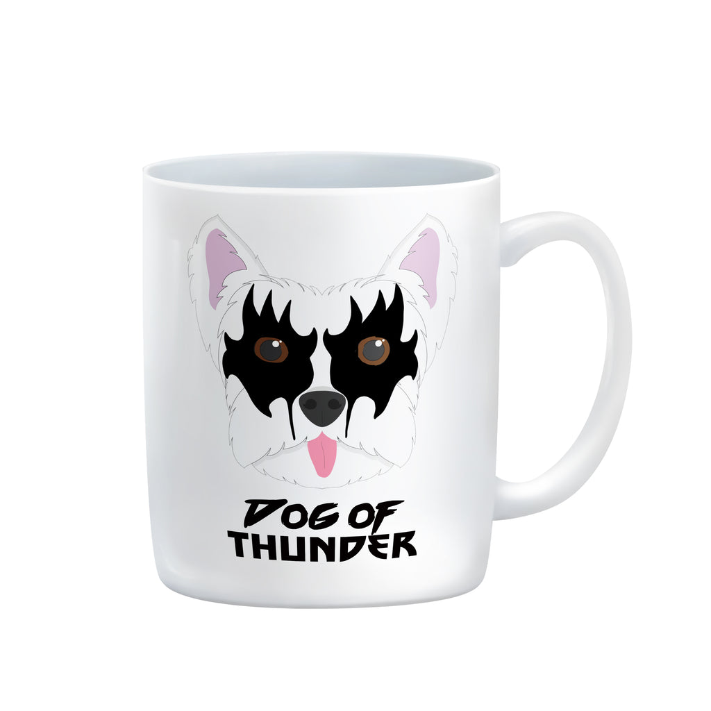 gene simmons KISS god of thunder MUG T-SHIRT by Rogue Tigers