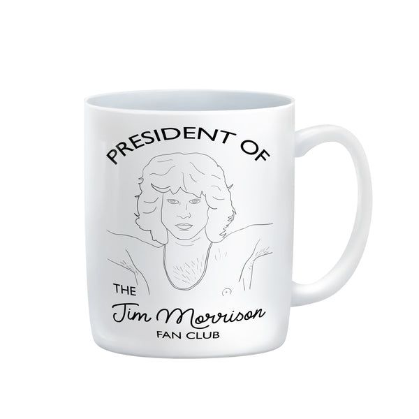 CUSTOM FAN CLUB PRESIDENT Mug