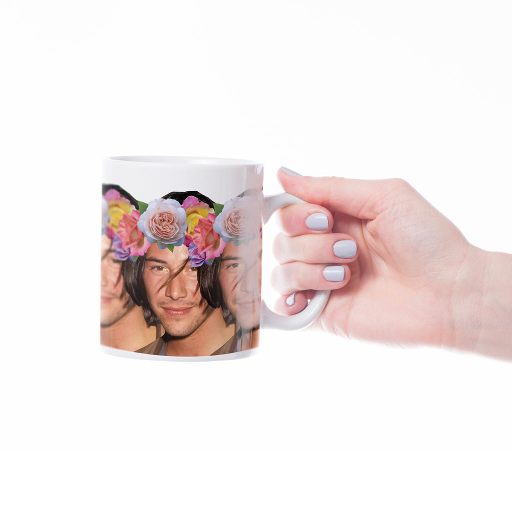 KEANU MAKE ME A CUP OF TEA? Mug