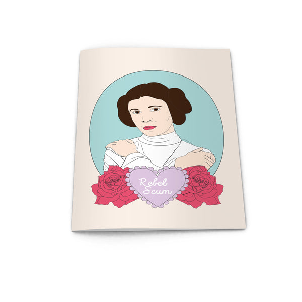 PRINCESS leia star wars REBEL SCUM cameo notebook from la la land