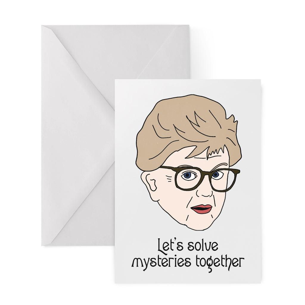 JESSICA FLETCHER Greetings Card