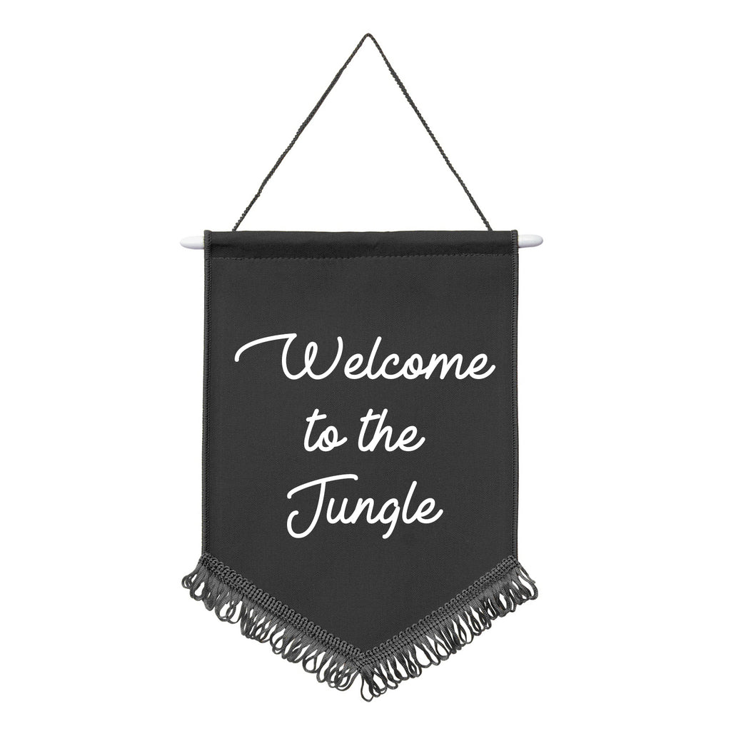 WELCOME TO THE JUNGLE Wall Hanging