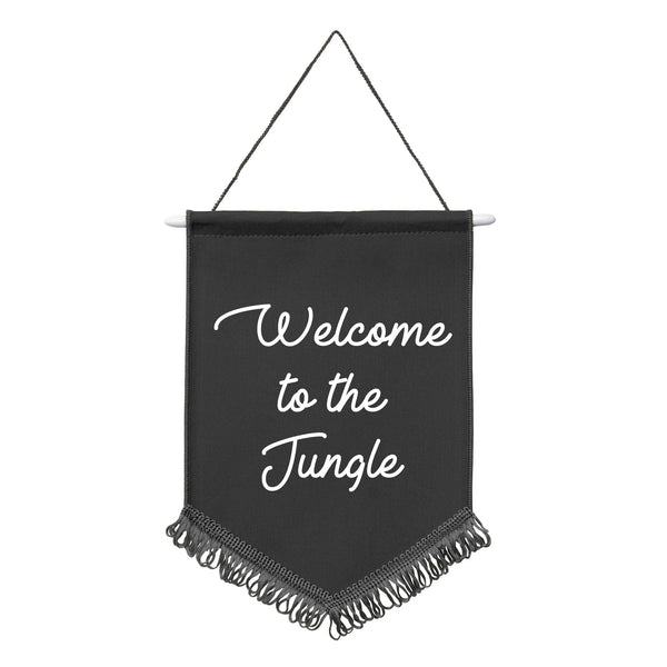 WELCOME TO THE JUNGLE Mini Wall Hanging