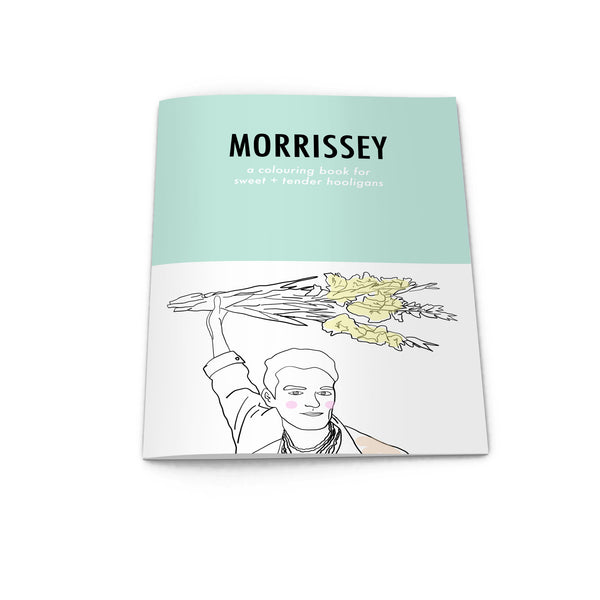 morrissey the smiths colouring book from LA LA LAND
