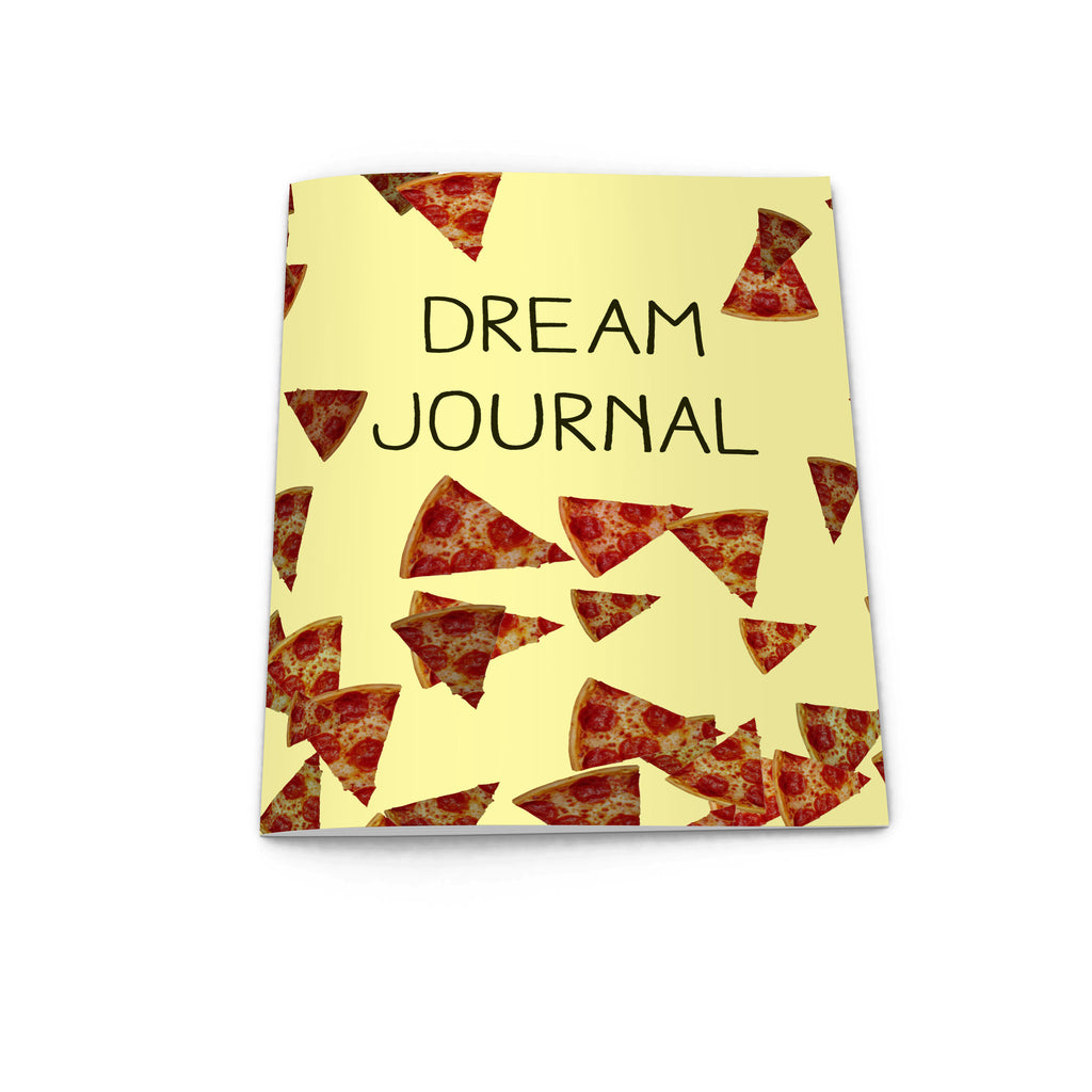 pizza notebook dream journal from la la land
