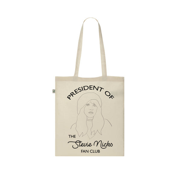 STEVIE NICKS FAN CLUB Tote Bag