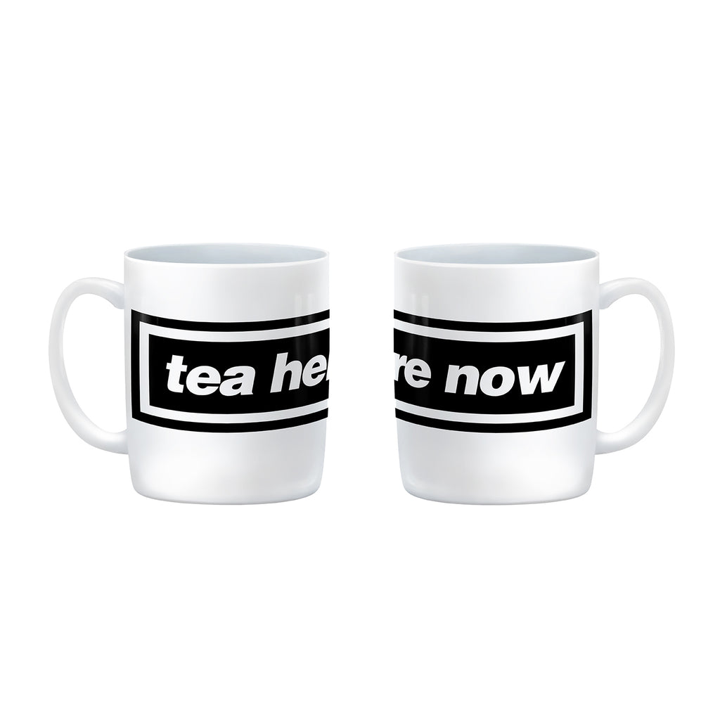 tea here now oasis mug from LA LA LAND