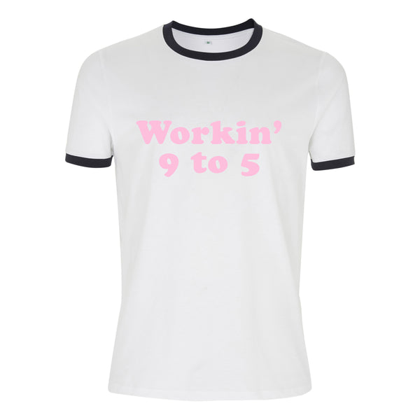 working 9 to 5 DOLLY PARTON ringer tee from LA LA LAND