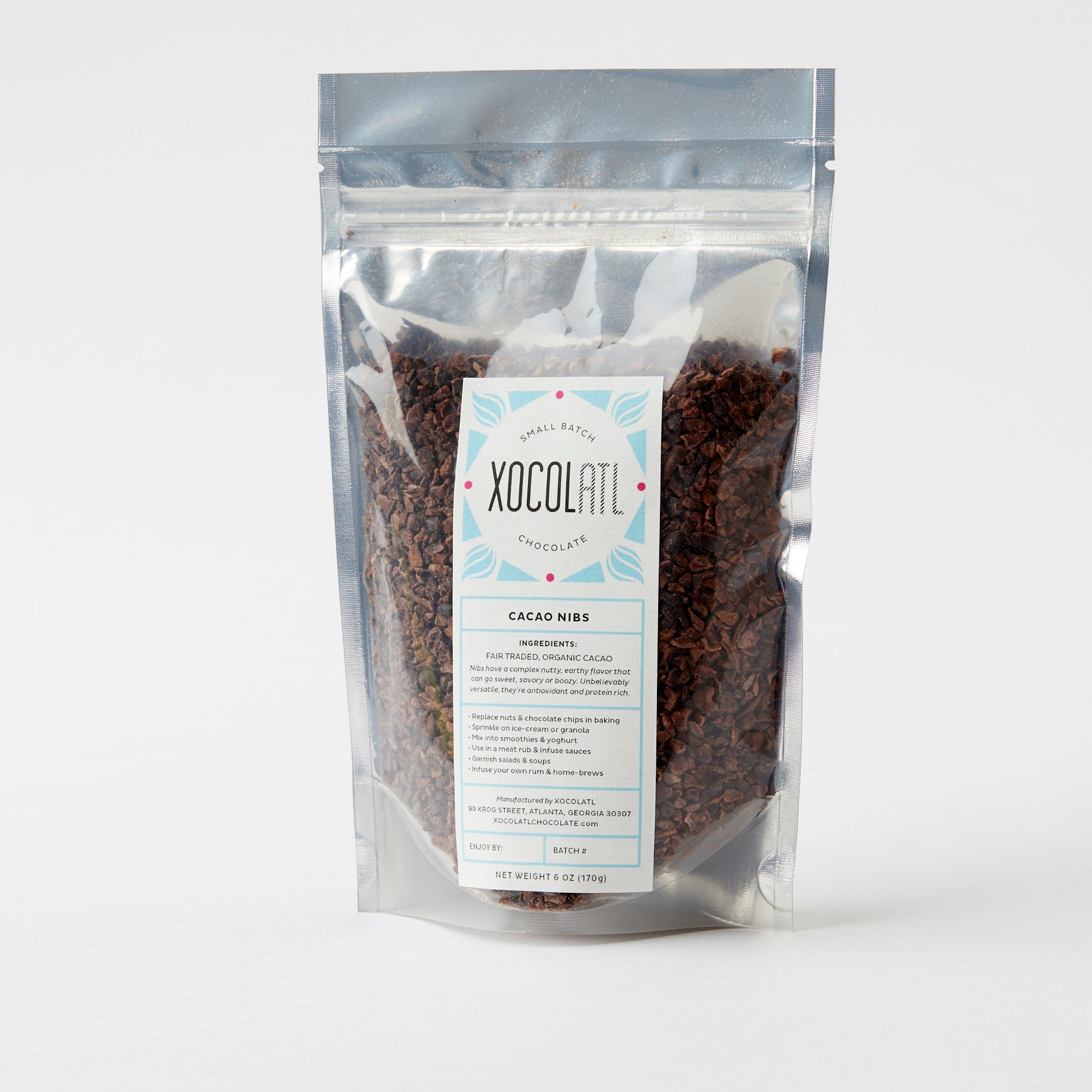 Organic Roasted Cacao Nibs