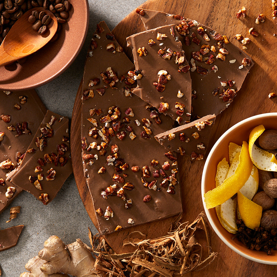 Pumpkin-Spiced Bark
