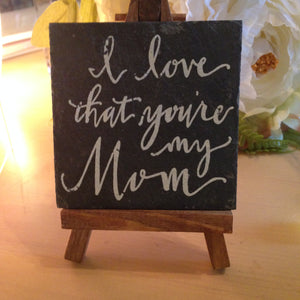 Mom Mini Easel