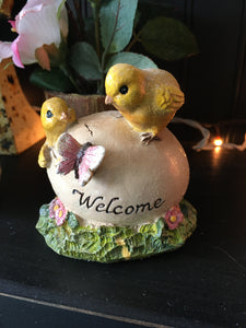 Welcome Chicks with Egg