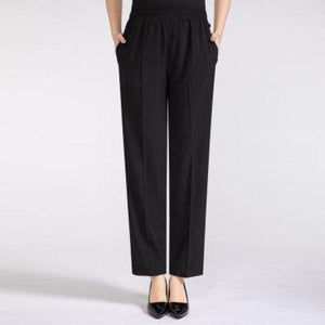 Section Loose Ice Silk 9 Points  Pants