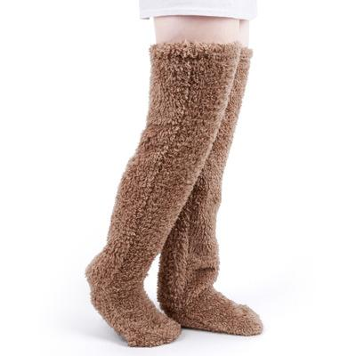 BUY 2 FREE SHIPPING--【BEAR FOOT】 WARM HOME PANTS