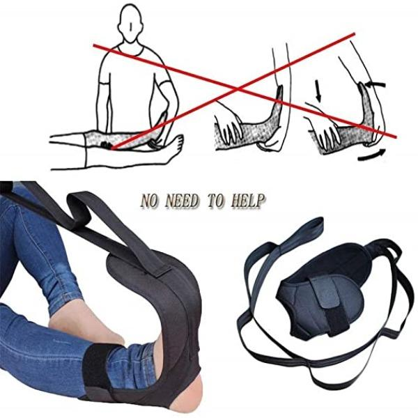 Yoga Stretching Strap Rehabilitation Training Belt