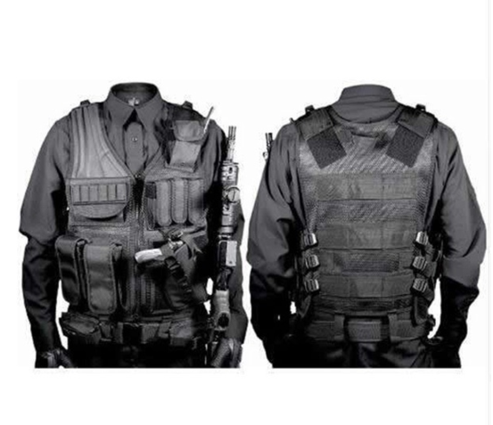Men Multi-pocket Detachable Military Tactical Vest