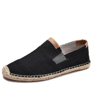 Men casual breathable canvas shoes