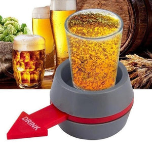 Rotatable Arrow Beer Wine Glass Cup Kit