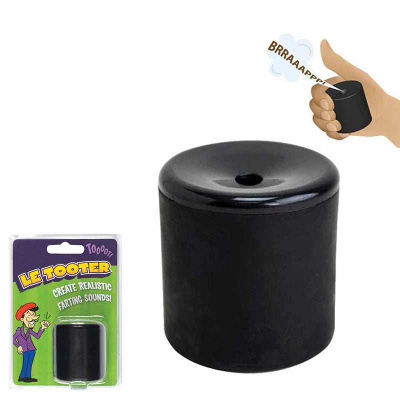 Fart Machine Toy Rubber