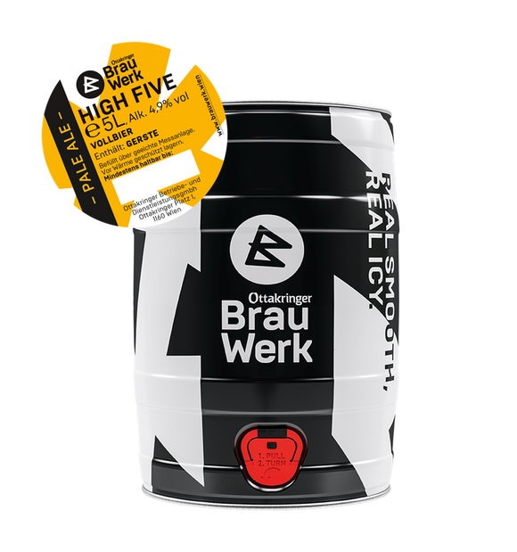 Ottakringer BrauWerk HIGH FIVE | Pale Ale (5,0 L)