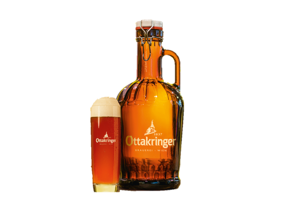 Ottakringer ROTES ZWICKL (2,0L Siphonflasche)