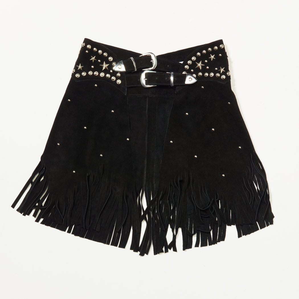 Paris Texas Chaps Skirt