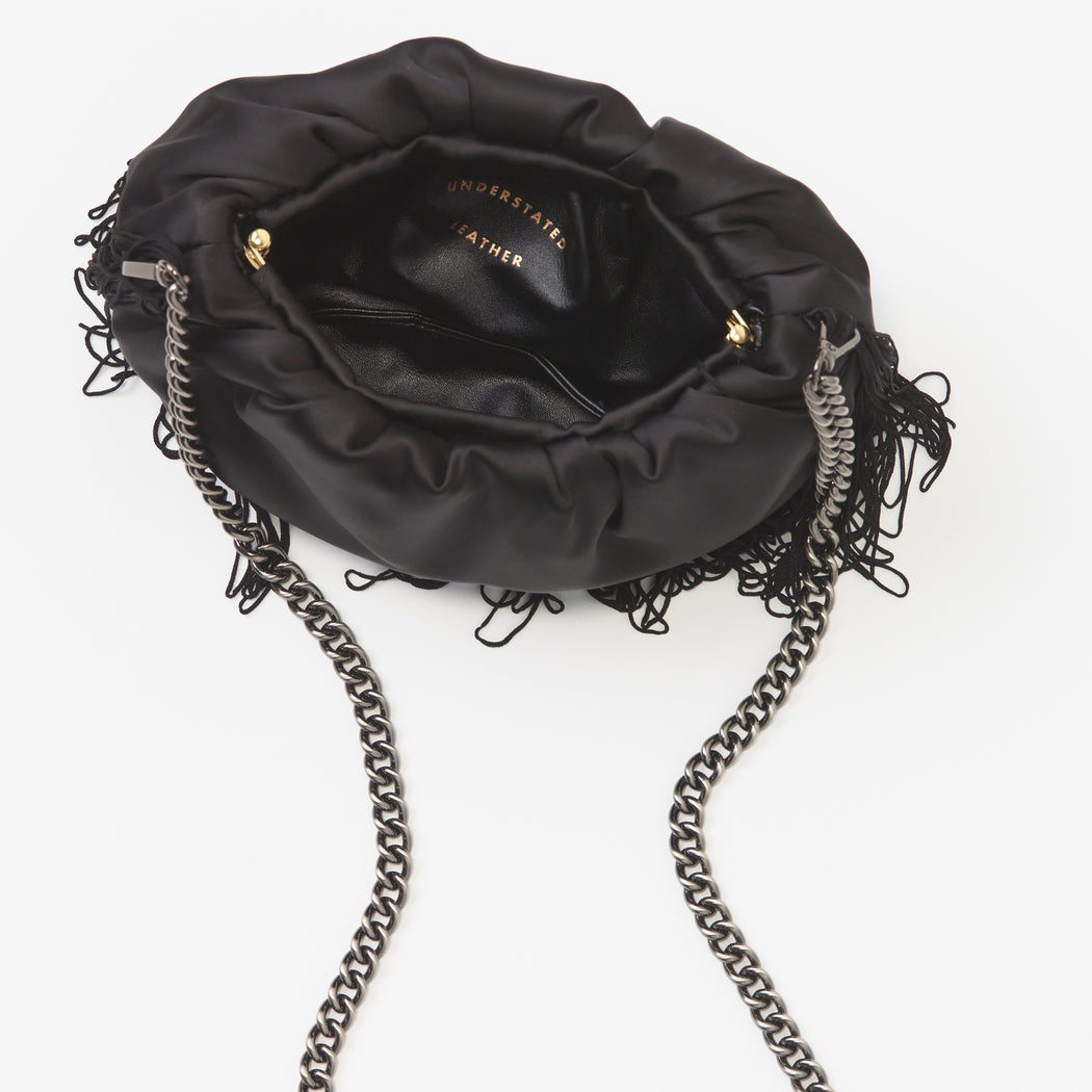 WILD THING MINI SATIN BAG