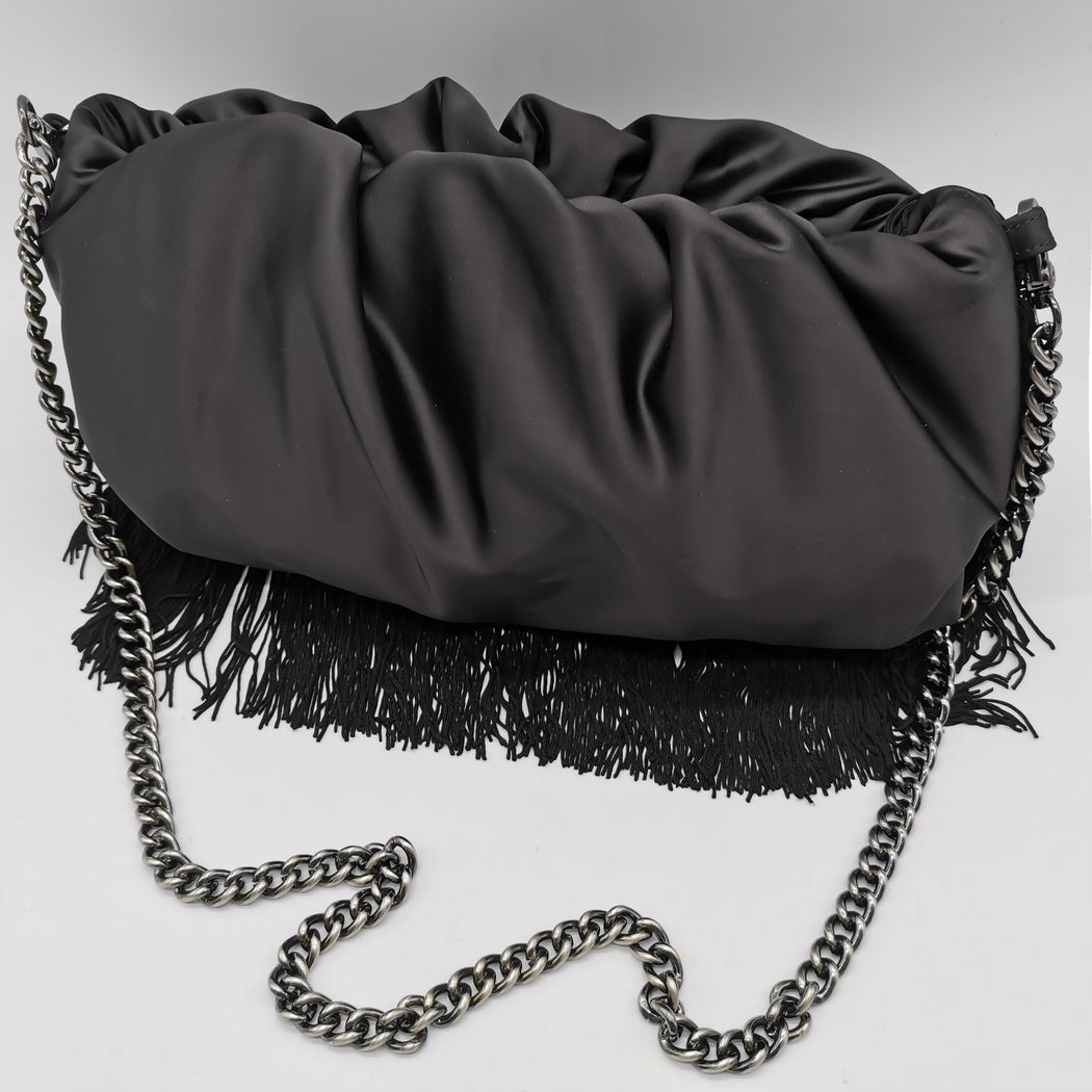 WILD THING LARGE SATIN BAG