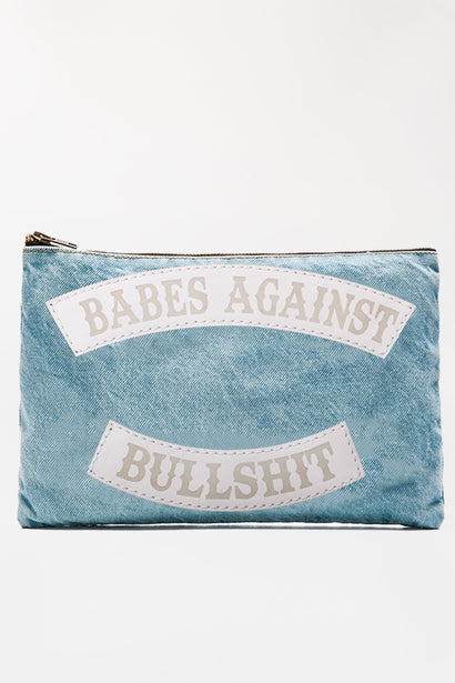 BABES AGAINST BULLSHIT POUCH