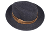 Leather Trimmed Hat