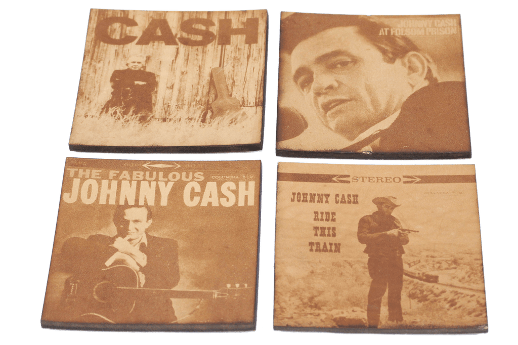 Johnny Cash Coaster Set